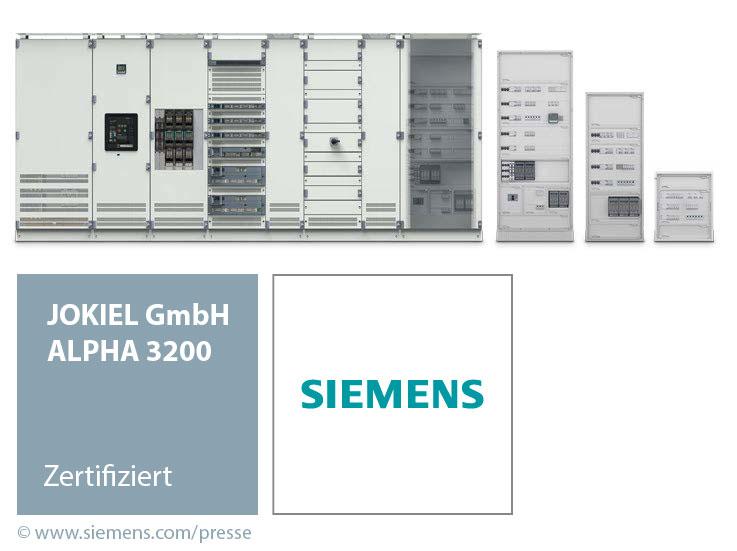 Zertifizierter Siemens-Partner: ALPHA 3200