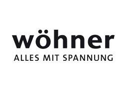 Wöhner-Logo –Alles mit Spannung